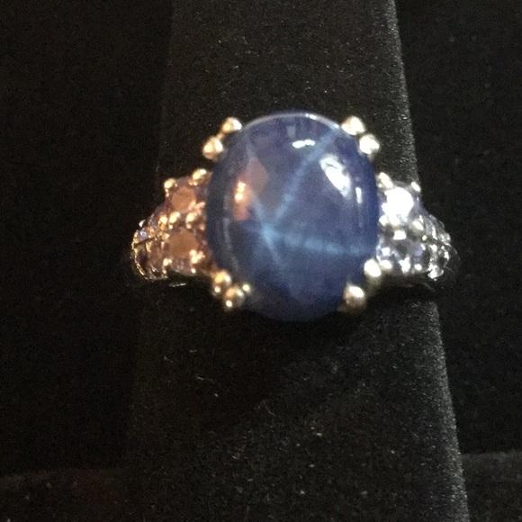 a4b14ec5375f2b Gem & Mineral Show Jewelry   Genuine Blue Star Sapphire Ring   Poshmark